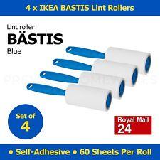 4 x IKEA BÄSTIS (Bastis) Self-Adhesive Sticky Peelable Lint Rollers