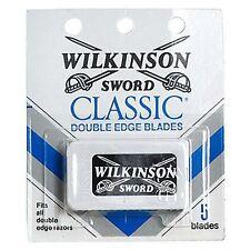Wilkinson sword classic double edge razor blades - 5 per pack x 6 pk (30 Blades)