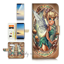 ( For Samsung S10 ) Wallet Flip Case Cover P21612 TinkerBell