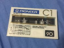 cassette tape rare  Pioneer C1 90 position chrome new and sealed ORIGINAL