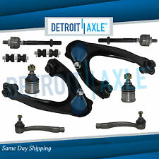 10pc Suspension Kit 2 Control Arms 2 Ball Joints 4 Tie rods 1996-00 Honda Civic