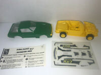 Mikado Mazda RX-7 Green & Yellow Vintage Model