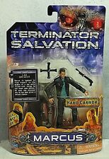 "Terminator Salvation ""Marcus"" 3 3/4 Action Figure w/Topps Movie Card MIP"