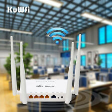 OpenWRT 300Mbps Wireless Router Strong Wifi Signal Home Router 4*5 dbi Antenna