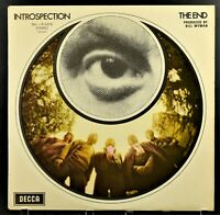 THE END-INTROSPECTION-DECCA LABEL FIRST PRESSING-STRONG NEAR MINT COPY-LARGE UNB