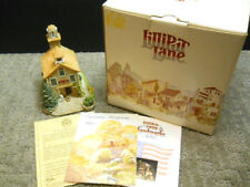 Lilliput Lane Fire House 1 From American Landmarks Nib & Signed - Ray Day 1991