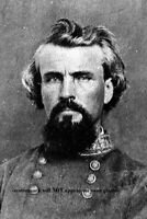 Confederate General Nathan Bedford Forrest PHOTO Civil War CSA Cavalry Commander