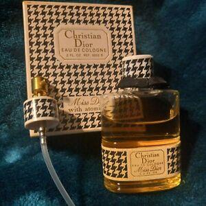 Vintage 60's Christian Dior Eau de Cologne Miss Dior w atomizer 2 Fl.Oz UNOPENED