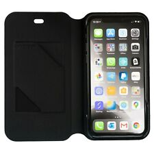 Otterbox Strada Via Soft-Touch Folio Wallet Case for iPhone X / XS - Black