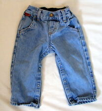 Rustler Baby jeans 6-9  months (tag: 24) *FREE SHIPPING* NEW snap legs
