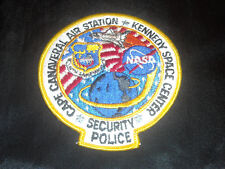 USAF AF 45TH SPACE WING DoD NASA SHUTTLE CAPE CANAVERAL AIR STATION KSC SP PATCH