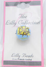 New Old Stock Lilly Collection Lilly Beads Blue Yellow Nautical Beads (3 Pack)