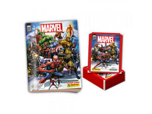 Marvel 80th Anniversary Sticker Collection: 1 Album + 50 Sticker Packs (5 Sticke