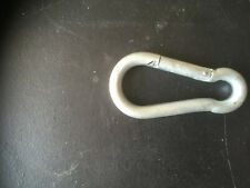 Cleat Hook 75mm (3 Inch) Chrome Plated surplus to requirements. (C)