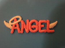"""ANGEL"" WORD LETTERS  EMBROIDERY APPLIQUE PATCH EMBLEM LOT (28 DOZEN)"