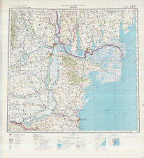 Russian Soviet Military Topographic Maps - IZMAIL (Ukraine),1:500 000, ed.1978