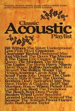 Classic Acoustic Playlist Learn to Play Guitar Rock POP Music Book