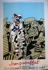 DUBUFFET JEAN SERIGRAPHIE ORIGINALE SIGNEE SOMPTUEUSE DE QUALITE - COLLECTION