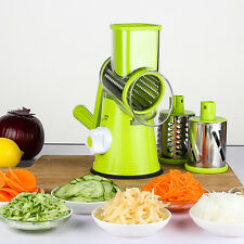 Manual Fruit Vegetable Round Slicer Julienne Carrot Cutter Cheese Grater Kitchen