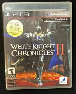 White Knight Chronicles II (Sony PlayStation 3, 2011) Missing Manuals