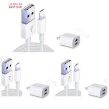 6ft Combo USB Lighting Cable for Apple Dual Charger Cable Iphone 6 7 8 X XR Plus