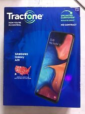 New listing Tracfone Prepaid Samsung Galaxy A20 (32Gb) Smartphone - Black New in Package