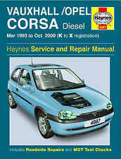 Corsa Car Service & Repair Manuals