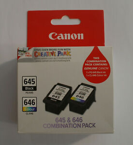2pcs Genuine Canon PG-645 CL-646 MG2460 MG2560 MG2960 MG2965 MG3060 MX496 TS3060
