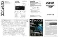 GIANT KENWOOD TS-870S DOCUMENTATION - INSTRUCTION + SERVICE MANUAL + DIAGRAMS ++