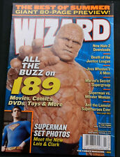 Wizard The Comic Magazine 2005 #165 The Thing, Fantastic Four #B422