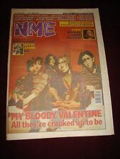 NME 1991 NOV 9 MY BLOODY VALENTINE BRYAN ADAMS CURVE U2 ADAMSKI MARC BOLAN