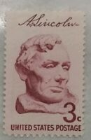 3 Cent US Postage Stamp Abraham Lincoln / Single / MNH