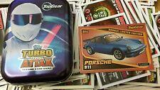 Topps Top Gear Turbo Attax 50 MIX cartes étain et bronze PORSCHE 911