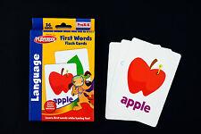 PLAYSKOOL First Words Educational Game Learning Flash Cards Preschool
