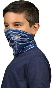 *NEW* MISSION NECK GAITER FACE MASK YOUTH COOLS UPF 50 COD BLUE MATRIX CAMO ARMY