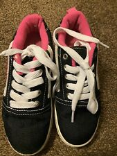 Heely Girls Youth Skates Shoes Black Pink Size 1