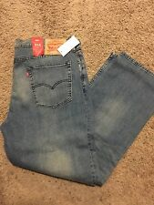 NWT LEVI'S 514 MEN'S PREMIUM STRAIGHT FIT STRETCH DENIM JEANS 38X30 MSRP$60