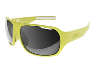 NEW POC DO FLOW Unobtanium Yellow Cycling Sun Glasses Shades Tinted AUTHENTIC!!