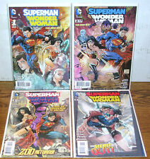 Superman/Wonder Woman-DC The New 52 Series-1st Eight Issues-Tony Daniel