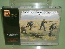 Pegasus 1/72nd WWII Russian Naval Infantry Plastic Soldiers Set 7270