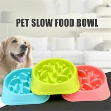 Slow Feeder Dog Bowl Small Cat Eating Non Slip Puzzle Dish Feed Anti Choke F8