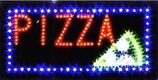 Ultra Bright Led Neon Light Animated Motion Pizza Open Sign L14