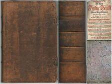 1729 Biblia Germanica  Die Gantze Heilige Schrift Alten und Neuen Testaments