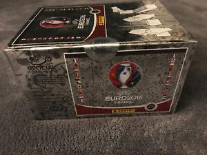 Panini UEFA Euro France 2016 Switzerland Swiss Star Edition Sealed Box 100 Packs