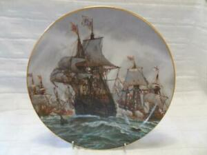 Hamilton Collection Collector Plate Great Sea Battles Battle Off Gravelines