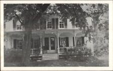 Rensselaerville NY Catalpa House Route 85 Old Postcard