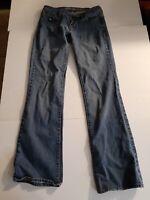 B Bullhead Laguna Womens Jeans Denim Bootcut Stretch Juniors Size 3 Reg 28 x 30
