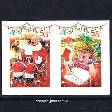 2010 - Australia - Dear Santa - Christmas - plain booklet pair - MNH