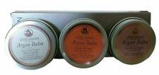 Josie Maran Argan Balm Trio 3pc Box Set Nourish Protect Vanilla Blossom Unscente
