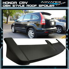 Fits 07-11 Honda Crv Cr-V Oe Factory Style Rear Roof Top Spoiler Unpainted Abs